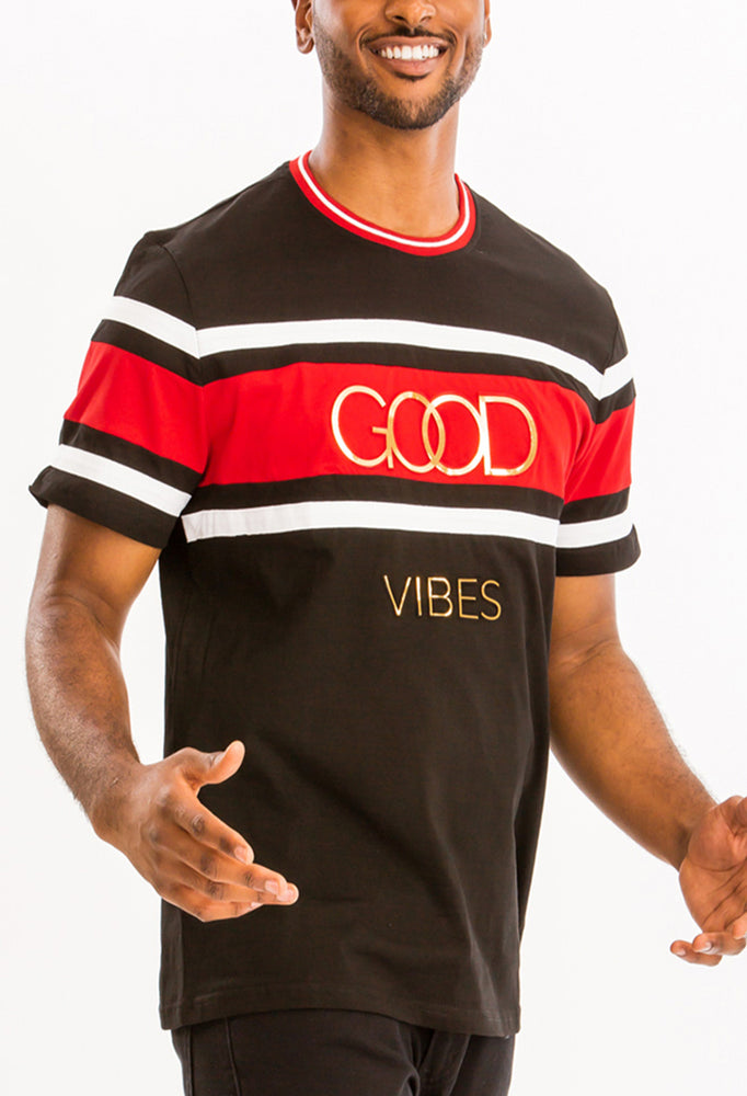 Load image into Gallery viewer, GOOD VIBES TEE