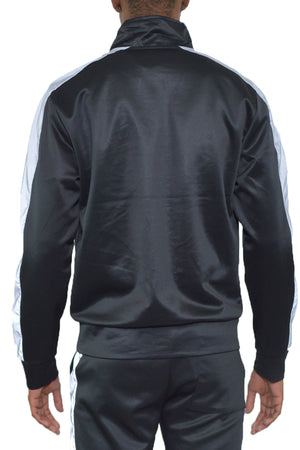 Load image into Gallery viewer, SINGLE STRIPE TRACK JACKET