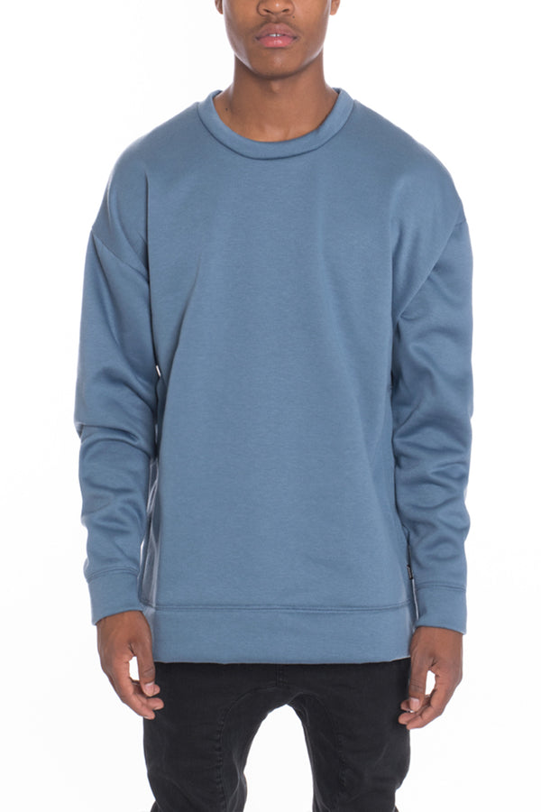 SIDEPANEL PULLOVER- SAGE
