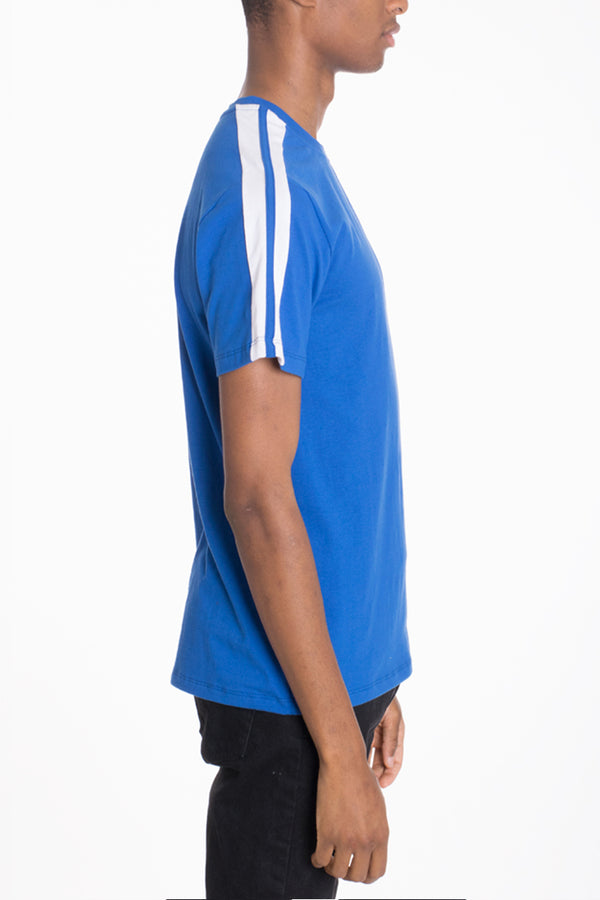 Dual Stripe Short Sleeve Tee