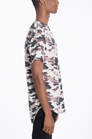 Load image into Gallery viewer, CAMO SCALLOP TEE