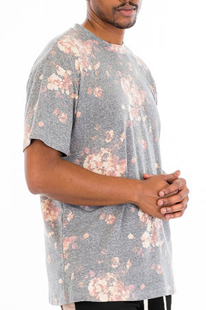 Load image into Gallery viewer, HEATHERED FLORAL SHIRT