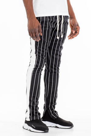 Load image into Gallery viewer, PIN STRIPE TRACK PANTS