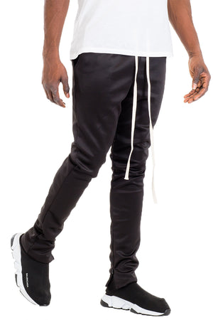 Load image into Gallery viewer, SIMPLE TRACK PANTS- BLACK