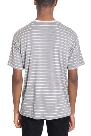 Load image into Gallery viewer, COTTON STRIPED TEE