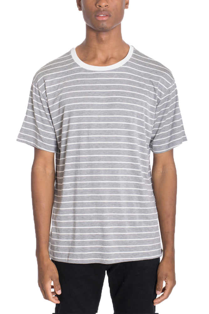 COTTON STRIPED TEE