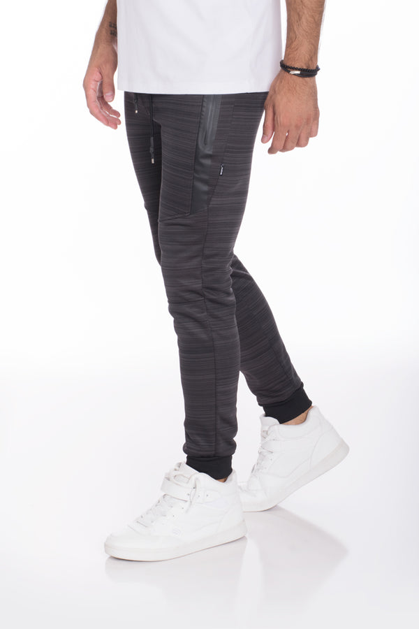 ESSENTIAL MARBLE JOGGER- CHARCOAL