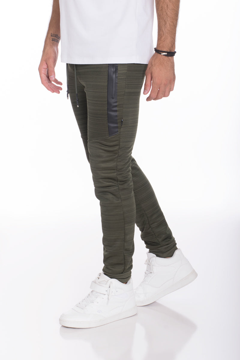 ESSENTIAL MARBLE JOGGER- OLIVE