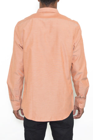 Load image into Gallery viewer, SIGNATURE LONG SLEEVE BUTTON DOWN SHIRT