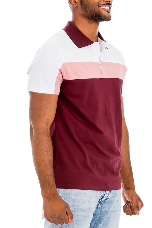 HERITAGE STRIPE POLO SHIRT