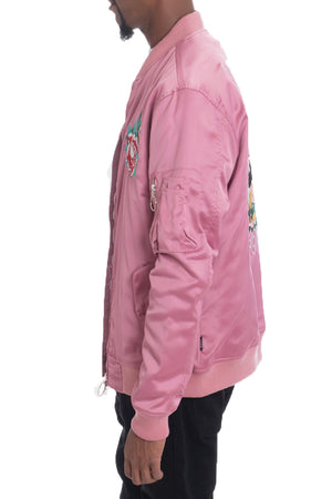 Load image into Gallery viewer, DOGTOWN BOMBER- PINK