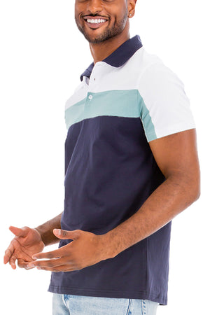 Load image into Gallery viewer, HERITAGE STRIPE POLO SHIRT