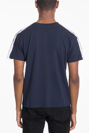 Load image into Gallery viewer, DUAL STRIPE SHORT SLEEVE TEE
