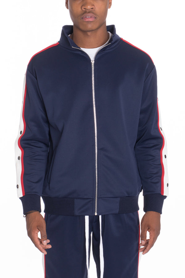 Snap Button Track Jacket
