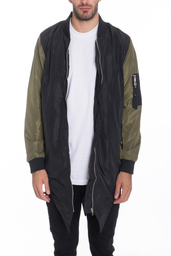 Fish Tail Bomber Jacket