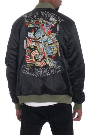 Load image into Gallery viewer, DOGTOWN EMBROIDERED BOMBER
