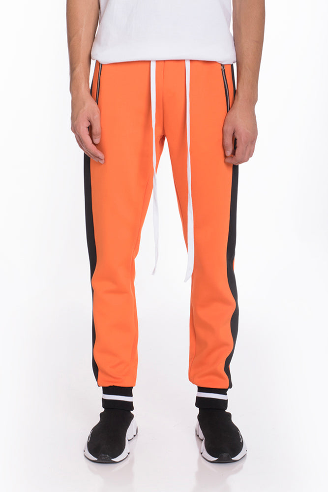 Load image into Gallery viewer, RALLY TRACK PANTS- ORANGE
