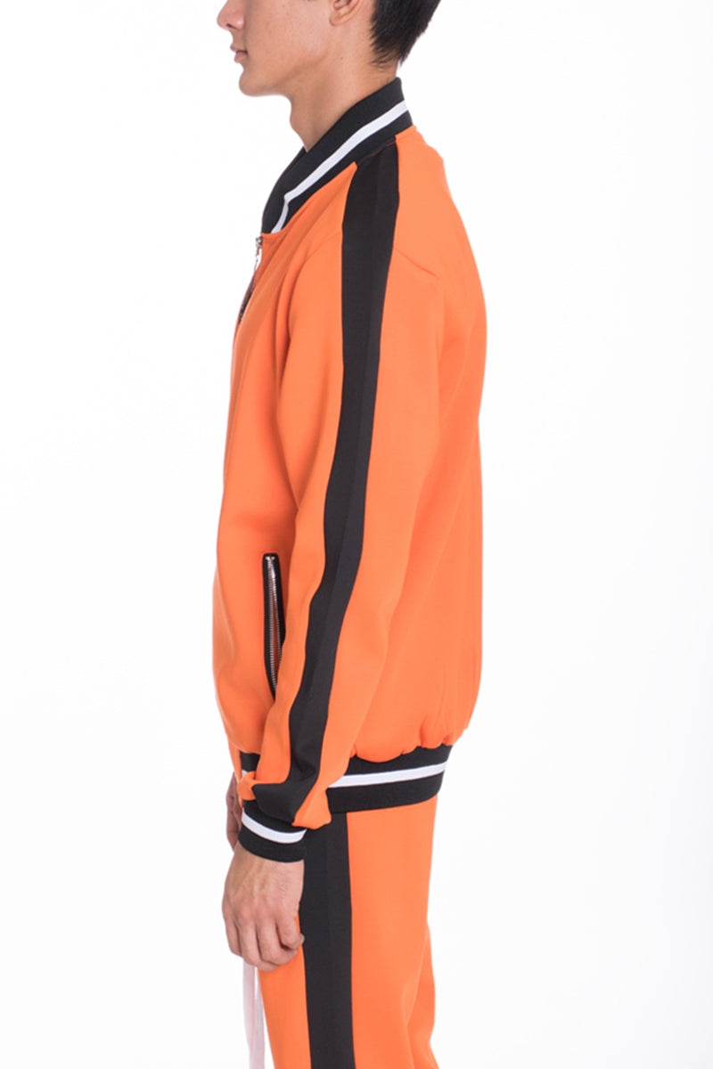 RALLY TRACK JACKET- ORANGE