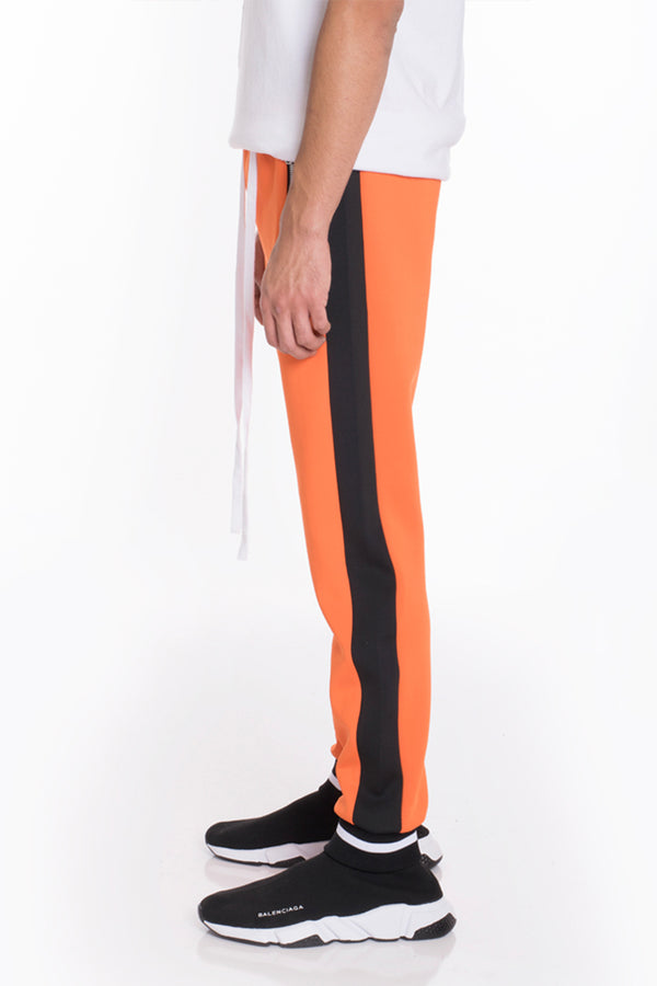 RALLY TRACK PANTS- ORANGE