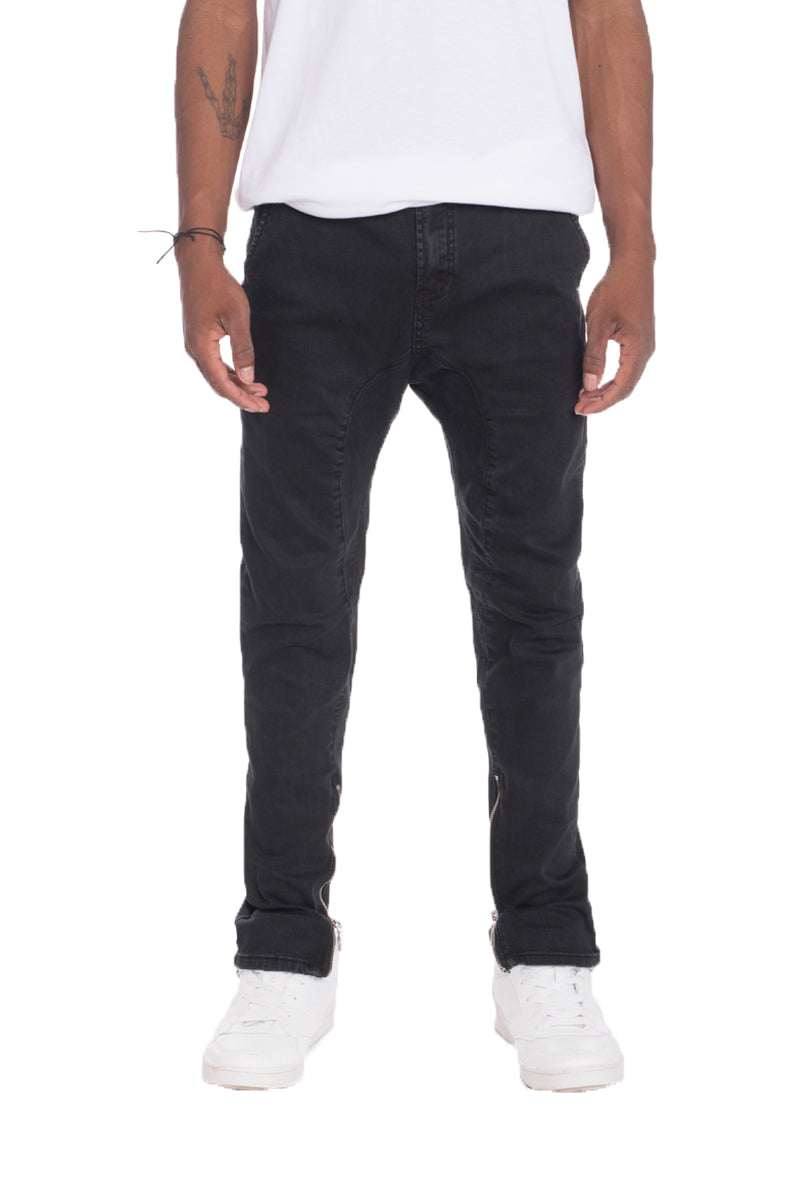 STRETCH DENIM- BLACK