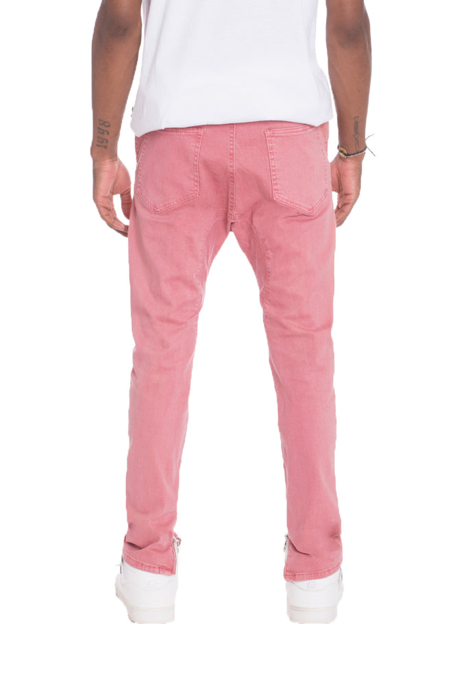 Load image into Gallery viewer, STRETCH DENIM- PINK