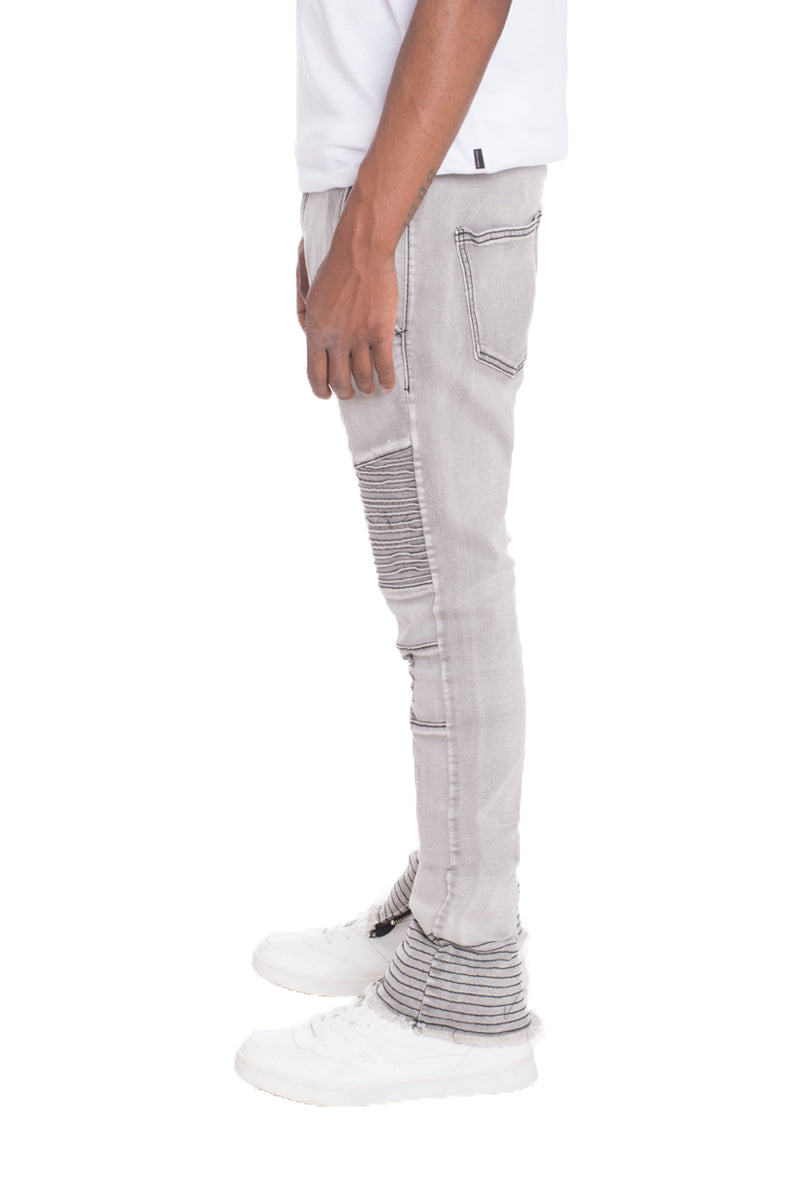 STRETCH DENIM- GREY