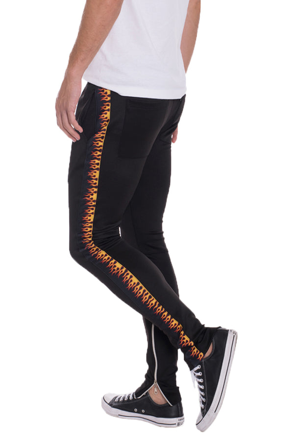 FLAME TRACK PANTS