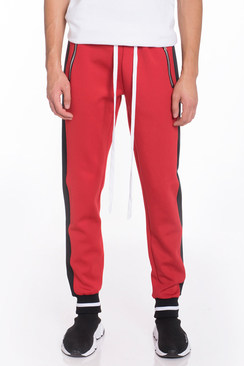 RALLY TRACK PANTS- RED