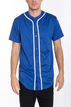 BASEBALL JERSEY- ROYAL