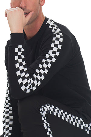 Load image into Gallery viewer, CHECKERED LONG SLEEVE