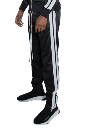 Load image into Gallery viewer, STRIPED TAPE TRACK PANTS