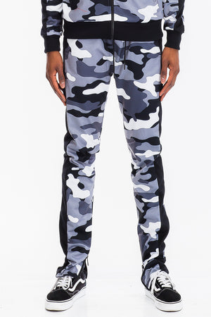 Load image into Gallery viewer, FULL CAMO TRACK PANTS