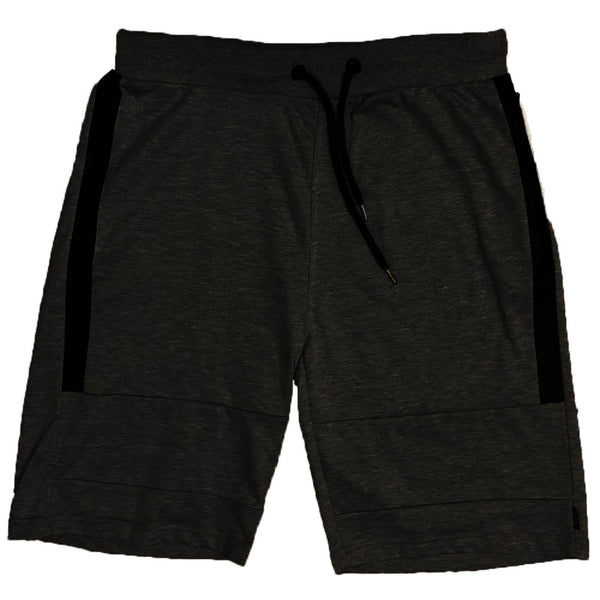 Black Zip Pocket Shorts
