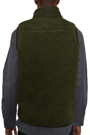 Load image into Gallery viewer, SHERPA FLEECE VEST