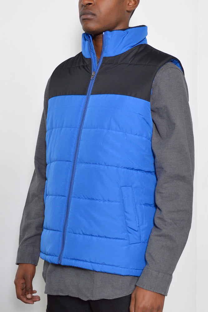 Load image into Gallery viewer, TWO TONE PADDED VEST