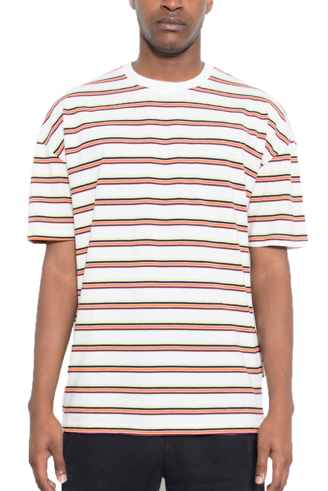 BASIC STRIPED TSHIRT