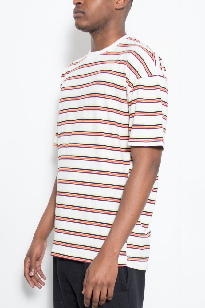 Load image into Gallery viewer, BASIC STRIPED TSHIRT