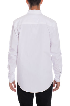 Load image into Gallery viewer, Weiv Long Sleeve Shirts White