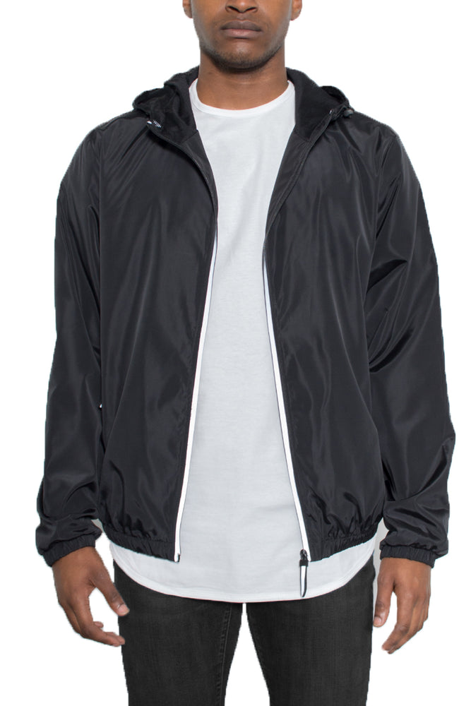 REFLECTIVE ZIP WINDBREAKER