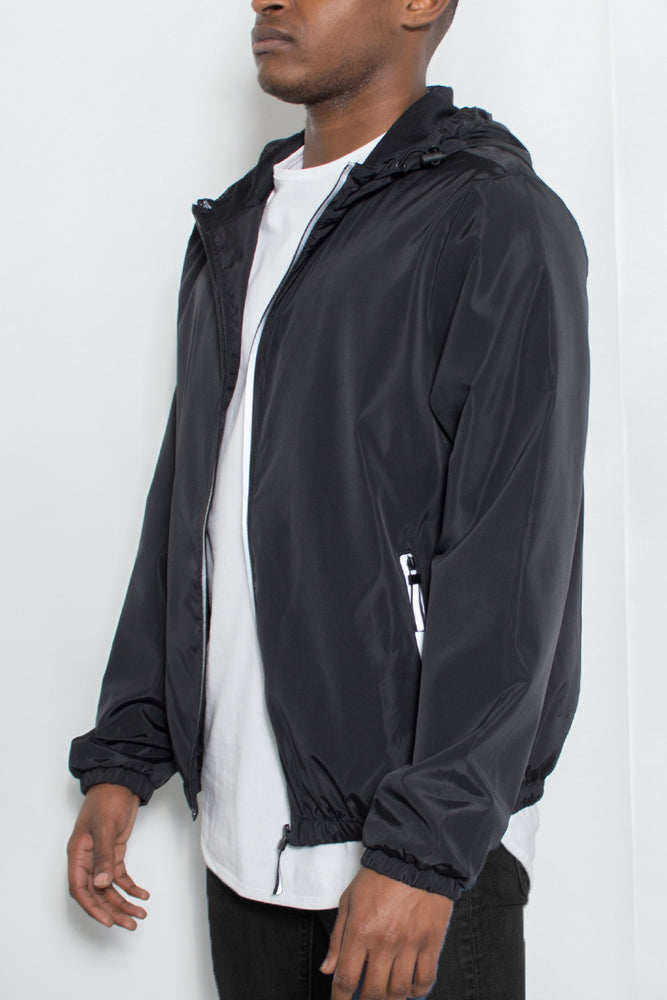 Load image into Gallery viewer, REFLECTIVE ZIP WINDBREAKER