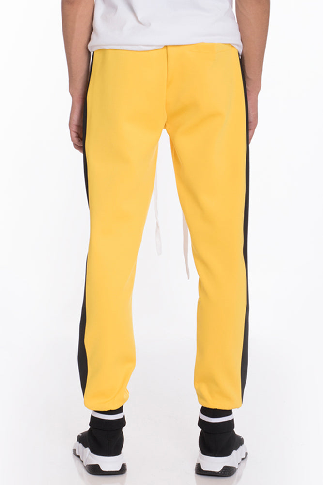 Load image into Gallery viewer, RALLY TRACK PANTS- YELLOW