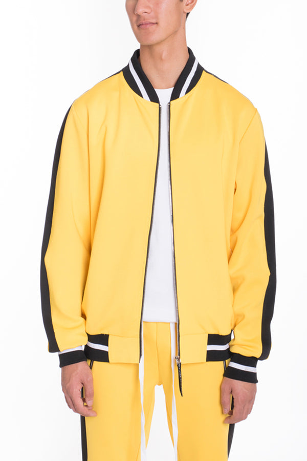RALLY TRACK JACKET- YELLOW