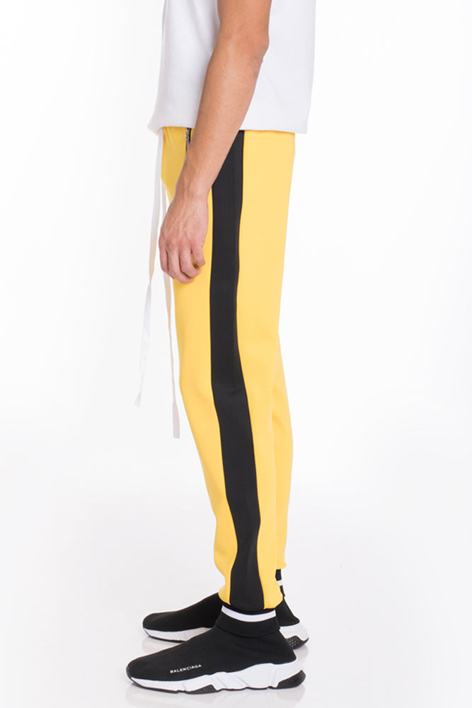 RALLY TRACK PANTS- YELLOW