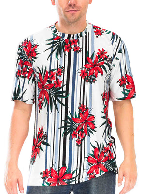 Load image into Gallery viewer, FLORAL SUBLIME FLORAL T-SHIRT