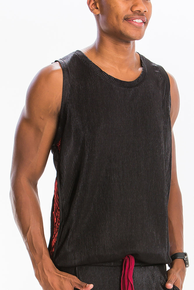 METALLIC BOX CUT TANK