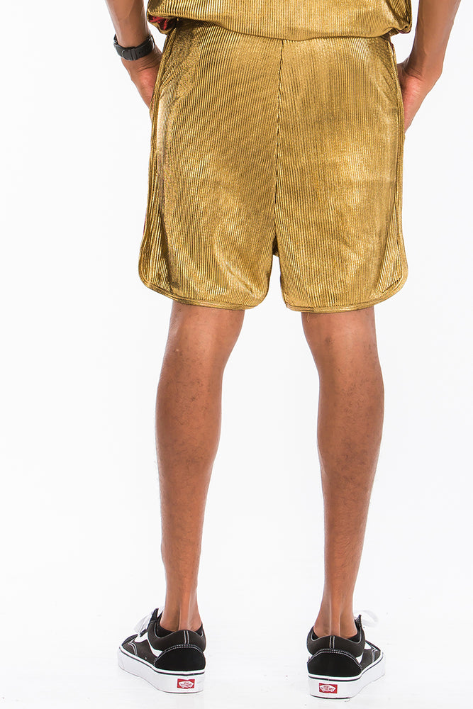 Load image into Gallery viewer, METALLIC BOXER SHORTS
