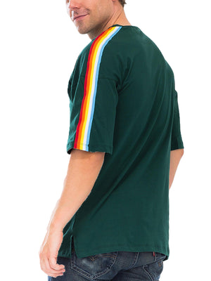 Load image into Gallery viewer, RAINBOW TAPE SHORT SLEEVE SHIRT