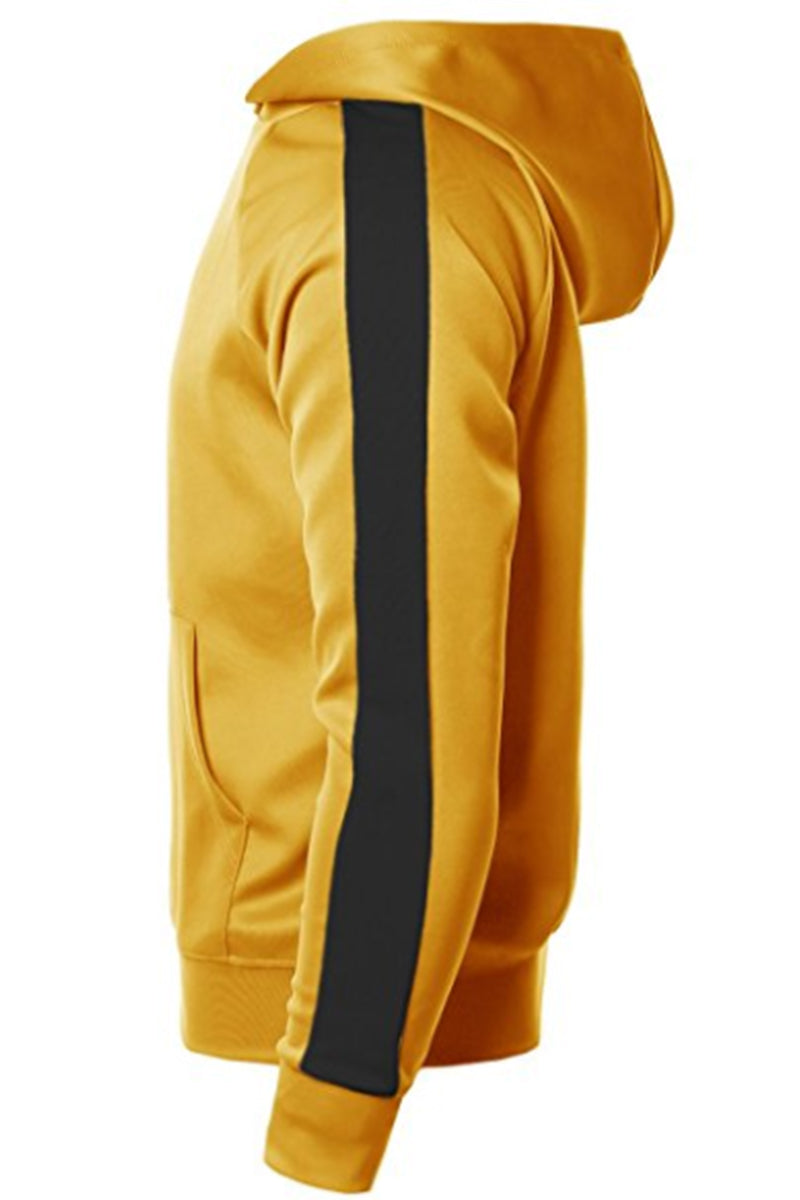 PORT HOODIE- YELLOW/ BLACK