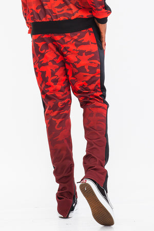 Load image into Gallery viewer, CAMO OMBRE TRACK PANTS