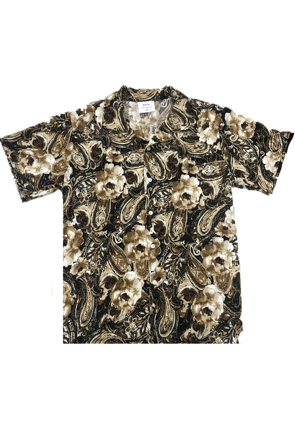 GASTRO PRINT BUTTON DOWN SHIRT